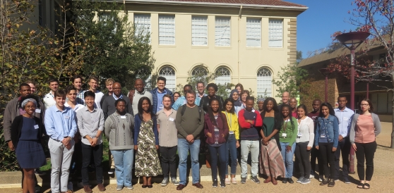 UCT medical students and HIV-TB researchers at the first HATTP medical student seminar